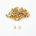 Rebite simples n° 2 - Dourado
