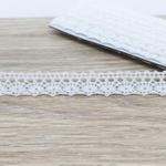 Renda de Algodão RA004 (pcte com 10 metros) - Branca