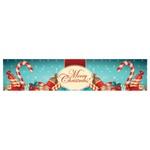 Faixa Digital de Natal Merry Christmas tiffany 7066 - (1 unidade)