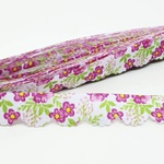 Mini Lasynha 91 estampada - Floral rosa