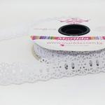 Passa-Fita Crochê 34 - Branco