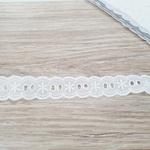Passa Fita de Algodão PA010 (pacte com 10 mts) - Branca