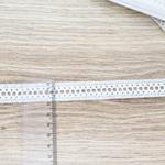 Renda de Algodão RA005 - Branca (pacte com 10 metros)