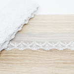 Renda de Tule BT013 - Branca