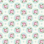 Tecido Tricoline Mandalas Florais Fadas - Tiffany