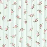 Tecido Tricoline Micro Florais Fadas - Tiffany