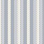 Tecido Tricoline Tricô - Azul
