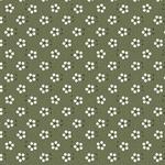 Tecido Tricoline Mini Primavera - Eucalipto