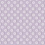 Tecido Tricoline Mini Primavera - Lilás