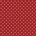 Tecido Tricoline Poá Vermelho - grande