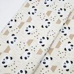 Tecido Tricoline Panda - Bege
