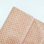 Tecido Tricoline Botões - Bege
