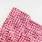 Tecido Tricoline Botões - Pink