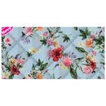 Placa de matelassê ultrassônico - Floral Havaiano P