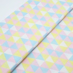 Tecido Triângulo Candy Color
