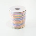 Cordão de Cetim 2mm - Candy Color (rolo com 50 metros)