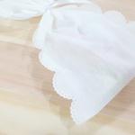 Embalagem para presente em TNT - branco (18x10cm)