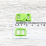 Fecho de engate rápido plástico 10mm - VERDE (10 unidades mesma cor)