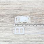 Fecho de engate rápido plástico 15mm - TRANSPARENTE (10 unidades mesma cor)