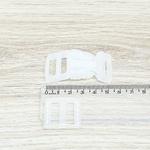 Fecho de engate rápido plástico 20mm - TRANSPARENTE (10 unidades mesma cor)