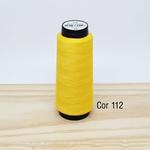 Linha para costura Resistente 2000j - cor 112 (amarelo)