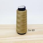 Linha para costura Resistente 2000j - cor 021 (caqui)
