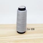 Linha para costura Resistente 2000j - cor 038 (cinza claro)