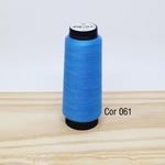 Linha para costura Resistente 2000j - cor 061 (azul médio)
