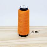Linha para costura Resistente 2000j - cor 113 (laranja)