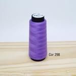 Linha para costura Resistente 2000j - cor 298 (lilás escuro)