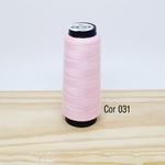 Linha para costura Resistente 2000j - cor 031 (rosa bebê)