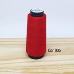 Linha para costura Resistente 2000j - cor 035 (vermelho)