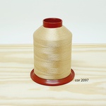 Linha para bordar Ricamare 4000mt - cor 2097 (creme)