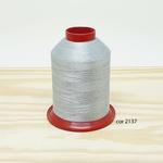 Linha para bordar Ricamare 4000mt - cor 2137 (cinza claro ou prata)