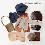 Kit Boneco Gilbert - Millyta Vergara