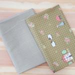 Kit 2 Dream Little Dream - com xadrez verde