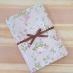 Kit 3 Shabby Romantic - com geométrico rosê