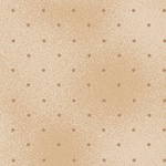 Tecido Tricoline Poá tom tom bege - (0,50cm x 1,50mt)