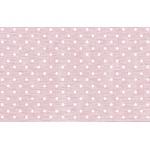 Viés Bolinha Marilda 24mm - Rosa claro (rolo com 20 metros)