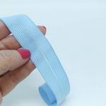 Viés Boneon 25mm - Azul bebê (pacote com 10 metros)