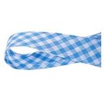 Viés Xadrez GRANDE Cinderela - Azul claro (rolo com 20 metros)