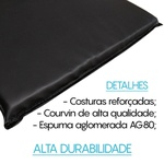 COLCHONETE ACADEMIA INICIATIVA FITNESS - LOGO ROSA - D80 - 95cm x 50cm x 3cm - UNIDADE