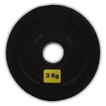 KIT ANILHAS OLÍMPICAS 1KG + 2KG + 3KG + 5KG + 10KG + 15KG + 20KG - PAR | INICIATIVA FITNESS