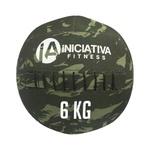 WALL BALL 14LB / 6KG - CAMUFLADO | INICIATIVA FITNESS