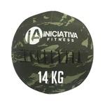 WALL BALL 30LB / 14KG - CAMUFLADO   INICIATIVA FITNESS