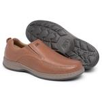 Sapato Comfort Classic Slip Conhaque