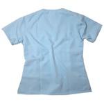Camisa Scrub Pijama Cirúrgico Azul Bebe Gabardine