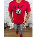 Camiseta Abercrombie Vermelho