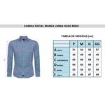 Camisa Manga longa HB Azul sem Costura