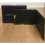 Carteira Tommy Preto/Amarelo